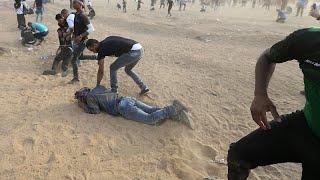 Сектор Газа: стрельба на границе