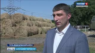 """Анзор Боташев посетил одно из крупнейших фермерских хозяйств республики """"Заря 1"""""""