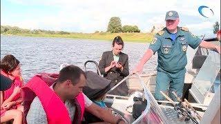 Инспекторы по маломерным судам и судебные приставы вышли в рейд на озеро Ильмень