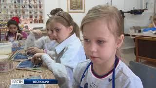 Вологодские школьники проводят творческие каникулы