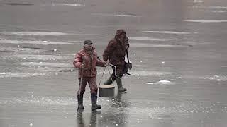 Первая трагедия на неокрепшем льду: в Некрасовском районе погиб рыбак