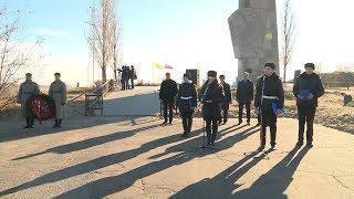 В Волгограде прошел митинг, посвященный 76-летию контрнаступления под Сталинградом