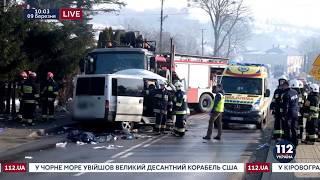 Два украинца погибли в результате ДТП в Польше
