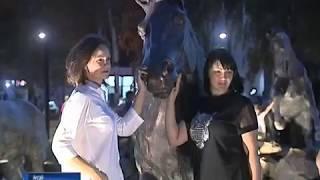 В Аксае открыли новый сквер «Кони»