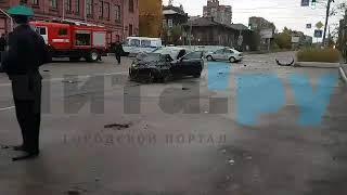 ДТП на Чкалова - Полины Осипенко в Чите