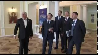 Министр культуры РФ и глава региона обсудили перспективы развития маршрута «Золотое кольцо России»