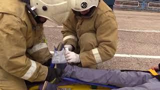 В МЧС выясняли кто эффективнее при автокатастрофах