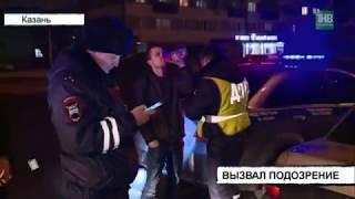 Подозрительный автомобиль остановили сотрудники автоинспекции на улице Восход - ТНВ