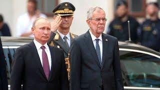 Дружба больше, чем газ. Как Путина встретили в Вене