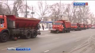 Автомобилистов просят не мешать расчистке дорог от снега