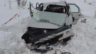 Неудачный обгон на трассе в Башкирии унес жизнь женщины