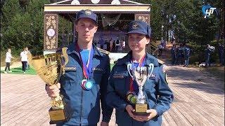 Новгородские юные спасатели привезли из Вологодской области золотые, серебряные и бронзовые медали