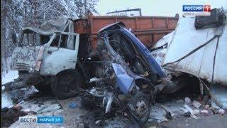 Два человека погибли в аварии в Килемарском районе - Вести Марий Эл