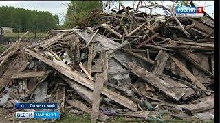В двух населенных пунктах Марий Эл не вывозят мусор - Вести Марий Эл