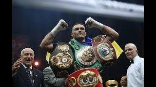 Порошенко назвал боксера Усика символом борьбы Украины