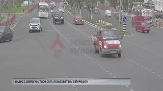 В Ярославле у маршрутки на полном ходу отлетело колесо