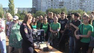 Волгоградские полицейские рассказали школьникам о своей профессии