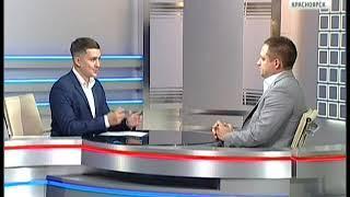 Вести.Интервью:  и.о. министра спорта Красноярского края Сергей Алексеев