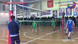 В Махачкале прошел финал юношеского Первенства Дагестана по волейболу