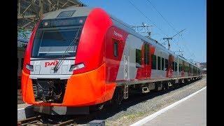 Из Калининграда в Зеленоградск запустили скоростной поезд «Ласточка»
