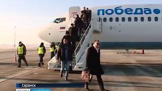 Аэропорт Мордовии принял первый рейс
