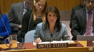 Хейли предупредила, что США готовы к атаковать Сирию