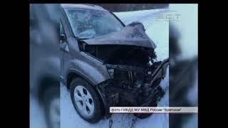 На дорогах Братска и района в ДТП погиб человек, еще двое пострадали под колесами автомобиля