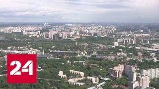 В Москве вновь объявлен желтый уровень погодной опасности - Россия 24
