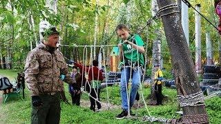 Югорские поисковики тренируют свои навыки в нижневартовском лесу