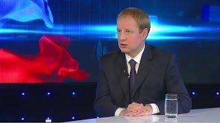 Интервью Виктора Томенко программе «Вести Алтай»