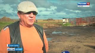 Славгородский фермер просит помощи после пожара
