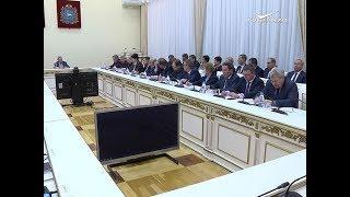 Пожароопасную обстановку обсудили в доме правительства на совещании с главами муниципалитетов