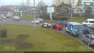 ДТП на ул. Красных Партизан и ул. Лукьяненко 15.03.2018
