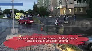 Невнимательный водитель «Шкоды» сбил пенсионерку
