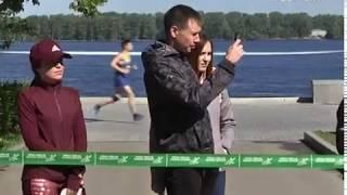 """Зелёный марафон """"Бегущие сердца"""" собрал на набережной Самары  2 тыс. человек"""