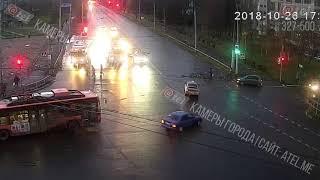 ДТП площадь Жукова 26 10 2018