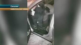 Подушки безопасности не спасли пассажиров в страшном ДТП на Сахалине