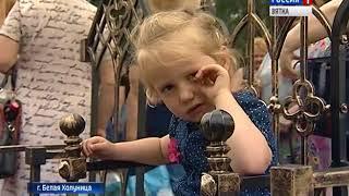 В Белой Холунице состоялся фестиваль железа (ГТРК Вятка)
