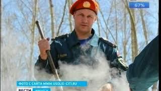 Спасатель погиб на пожаре в Усолье Сибирском