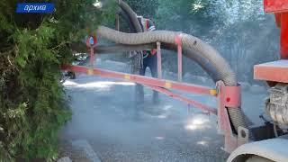 В Симферополе активно ремонтируют дороги