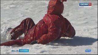 Жители Карелии продолжают игнорировать запрет выхода на лед