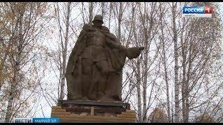 В селе Верх-Ушнур завершен первый этап реставрации памятника участникам войны - Вести Марий Эл