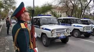 300 лет полиции в России (Тюмень)