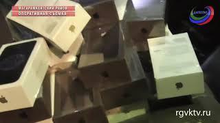 В Дагестане конфискована крупная партия контрабандных мобильников