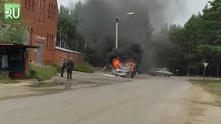В Курганской области сгорели 58 автомобилей. Как уберечь машину от пламени