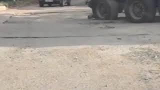 Ремонт дороги в МинВодах