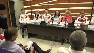 Пресс-конференция по итогам спартакиады молодежи России