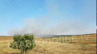 В Кочубеевском районе Ставрополья горят поля