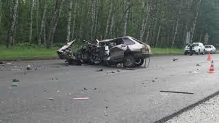 ДТП в Ярославле: иномарка вылетела в кювет и перевернулась на крышу
