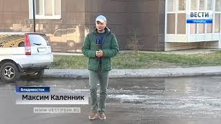 Родник обнаружили жители домов в микрорайоне бухты Патрокл во Владивостоке